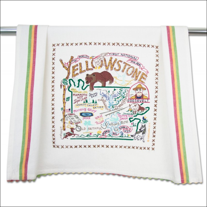 Picture of Souvenir Dish Towel - Yellowstone