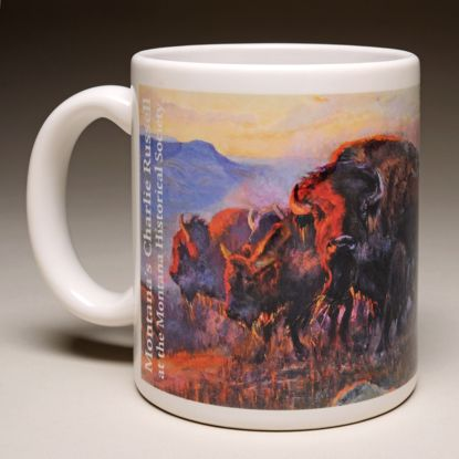 "Picture of Mug - C M Russell's ""When the Land Belonged to God"""