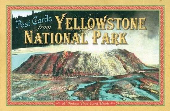 Picture of Vintage Postcards from Yellowstone National Park