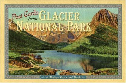 Picture of Vintage Postcards from Glacier National Park