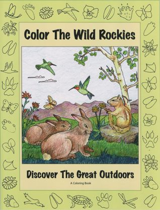 Picture of Color the Wild Rockies: Discover the Great Outdoors Coloring Book