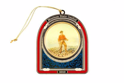Picture of 2010 Montana State Capitol Ornament - The Prospector