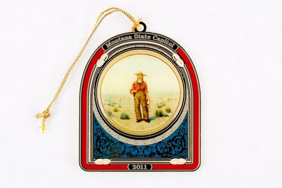 Picture of 2011 Montana State Capitol Ornament - The Cowboy