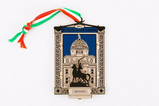 Picture of 2012 Montana State Capitol Ornament - Thomas Francis Meagher