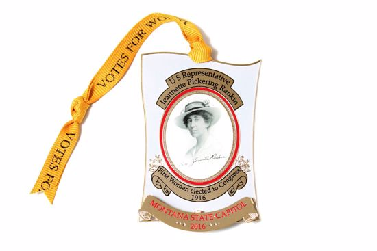 Picture of 2016 Montana State Capitol Ornament - Jeannette Rankin