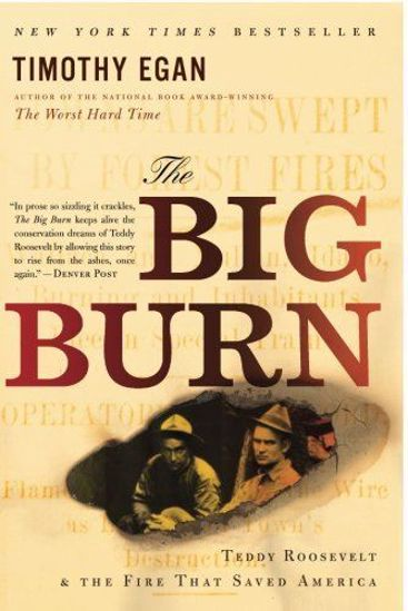Picture of The Big Burn: Teddy Roosevelt and the Fire that Saved America