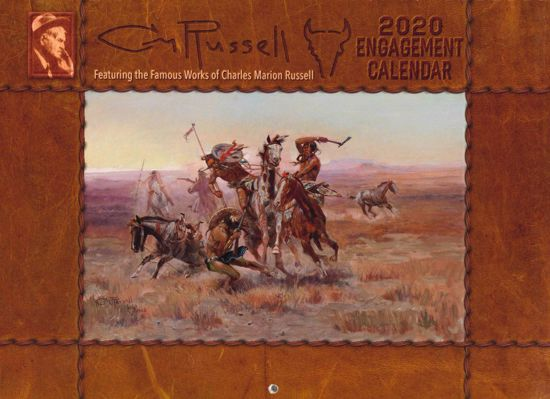 Picture of 2020 C M Russell Engagement Calendar