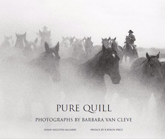 Picture of Pure Quill: Photographs by Barbara Van Cleve [Big Timber]