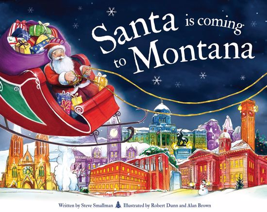 Picture of Santa Is Coming to Montana: A Christmas Adventure