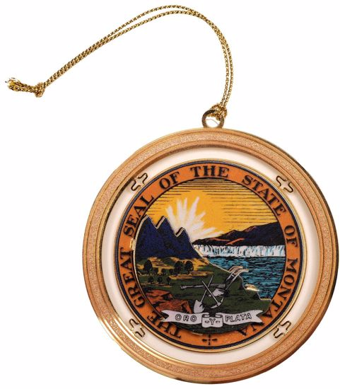 Picture of 2018 Montana State Capitol Ornament - The Great Seal