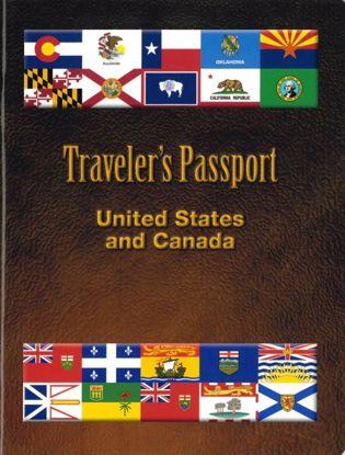Picture of Traveler's Passport: United States & Canada