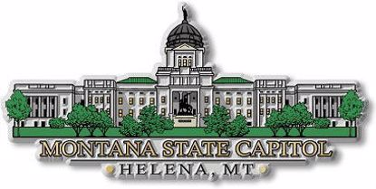 Picture of Magnet - Montana State Capitol