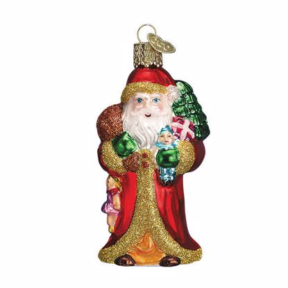 Picture of Ornament - Father Christmas With Gifts