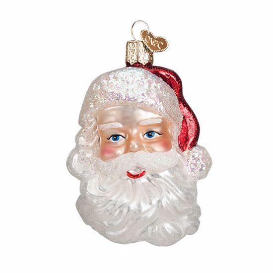 Picture of Ornament - Mid-Century Santa Head