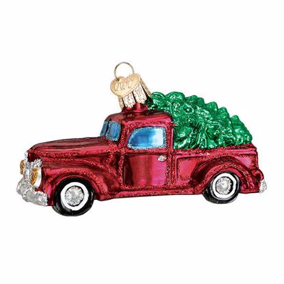 Picture of Ornament - Old Truck With Tree