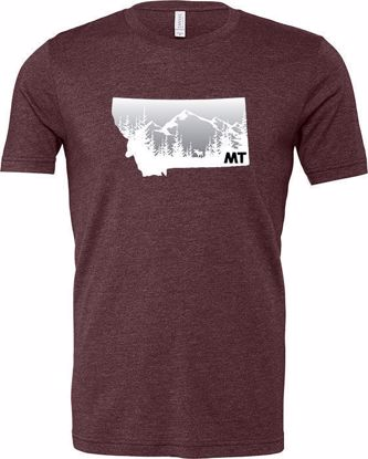 Picture of T-Shirt - Moose, Mountains, Montana - XXL