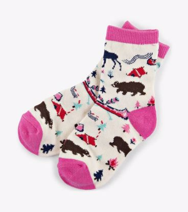 Picture of Socks - Kids Pretty Sketch Country
