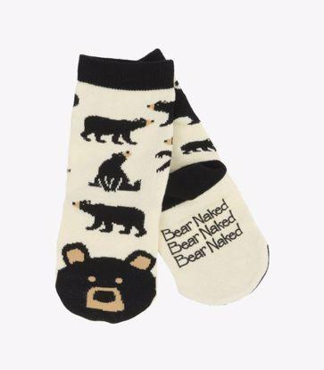 Picture of Socks - Kids Black Bear Animal Face