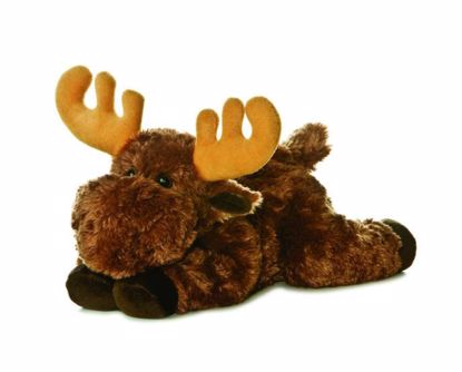 """Picture of Stuffed Toy - Moose 12"""""""