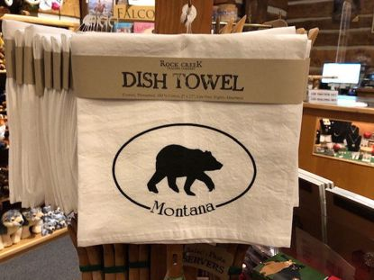 Picture of Tea Towel - Bear