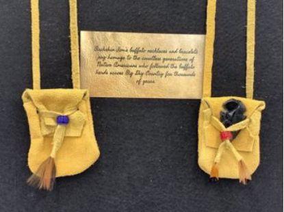 Picture of Buckskin Medicine Bag