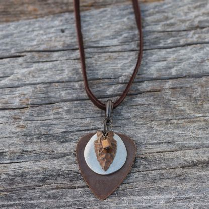 Picture of Arrowhead & Disk Necklace