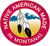 Native American Made in Montana logo