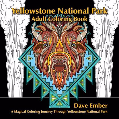 Picture of Yellowstone National Park Coloring Book