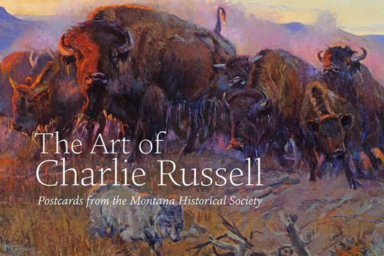Picture of The Art of Charlie Russell: Postcards from the Montana Historical Society