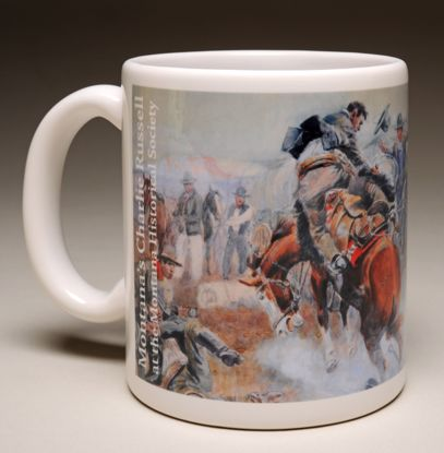 "Picture of Mug - C M Russell's ""Bronc to Breakfast"""