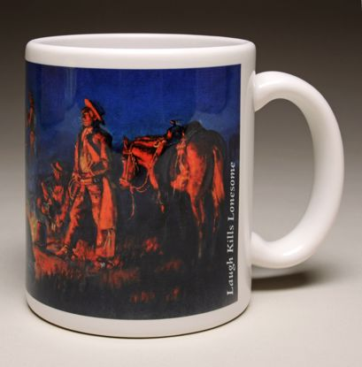 "Picture of Mug - C M Russell's ""Laugh Kills Lonesome"""