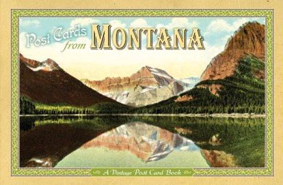 Picture of Vintage Postcards from Montana