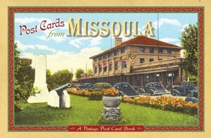 Picture of Vintage Postcards from Missoula