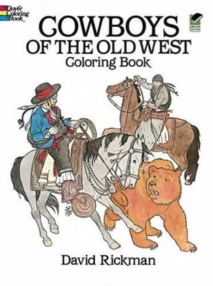 Picture of Cowboys of the Old West Coloring Book