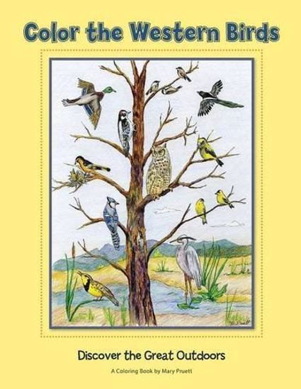 Picture of Color the Western Birds: Discover the Great Outdoors Coloring Book