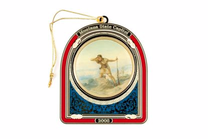 Picture of 2008 Montana State Capitol Ornament - The Trapper