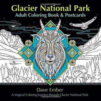 Picture of Glacier National Park Coloring Book