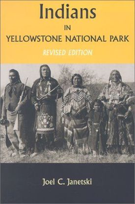 Picture of Indians In Yellowstone National Park