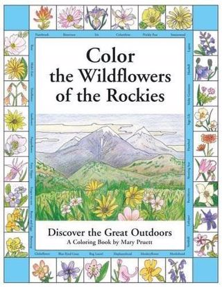 Picture of Color the Wildflowers of the Rockies: Discover the Great Outdoors Coloring Book