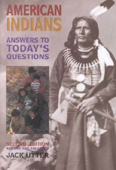 Picture of American Indians: Answers to Today's Questions