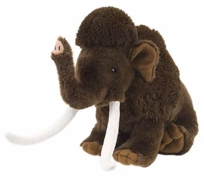 """Picture of Stuffed Toy - Woolly Mammoth 12"""""""