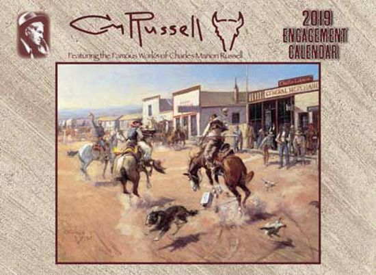 Picture of 2019 C M Russell Engagement Calendar