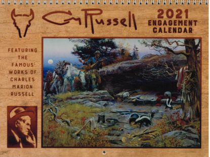 Picture of 2021 C M Russell Engagement Calendar