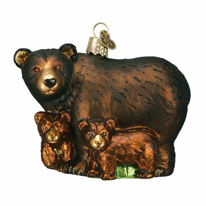 Picture of Ornament - Bear With Cubs