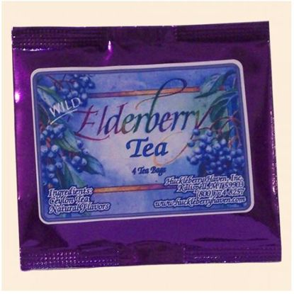 Picture of Elderberry Tea - 4-Bag Pouch