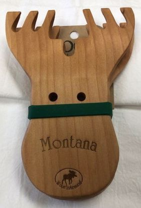 Picture of Wooden Salad Servers - Moose