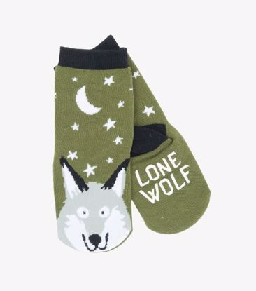 Picture of Socks - Kids Wild Wolves Animal Face