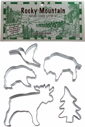 Picture of Cookie Cutter Set - Rocky Mountains