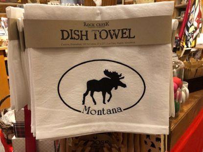 Picture of Tea Towel - Moose