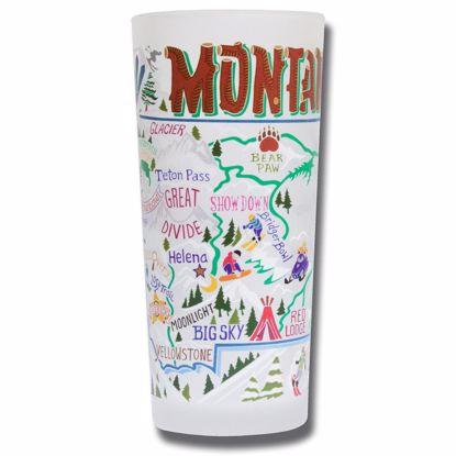 Picture of Souvenir Glass - Ski Montana